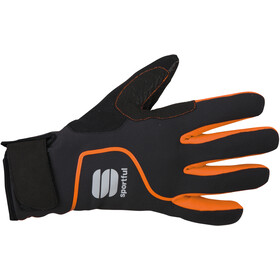 Sportful Sotto Zero Gants, black/orange sdr